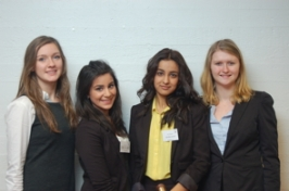 Chairs, Admin staff and MUN Directors, fra konferansen Skagerrak and Nesbru Model UN, 2012.