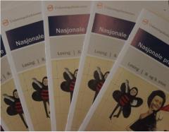Forside nasjonale prøver i lesing, åttende og niende trinn.