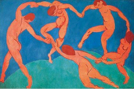 «La Dance», Henri Matisse. Illustrasjon til Generell del av læreplanen, Det samarbeidende menneske.