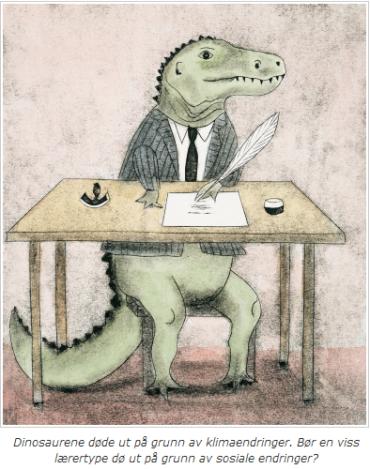 dinosaurer er lærere