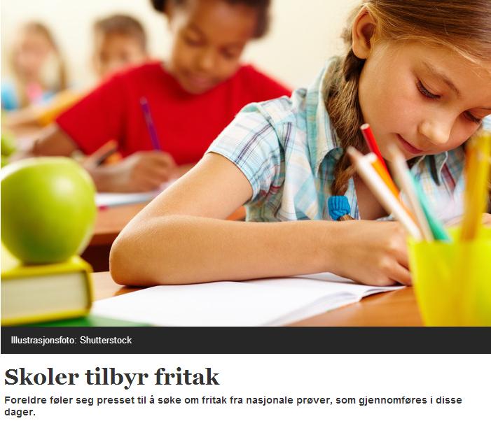 Ta heller en studietur til Karlsøy enn å frita elever fra de nasjonale prøvene. Det funker nemlig ikke, ifølge analysen til Ola Vassli.